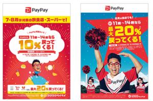 PayPay8月キャンペーンポスター