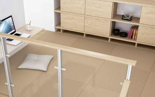 ダイケンの和紙の畳を使ったおしゃれな空間