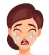 女 泣き顔 1